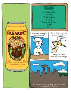 Freemont Interurban IPA beer review page 1 by Em Sauter