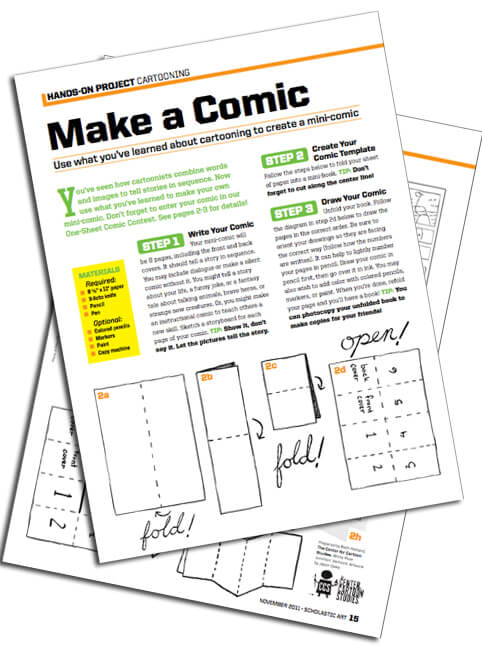Comic Lesson Plan Archives – The Center for Cartoon Studies The ...
