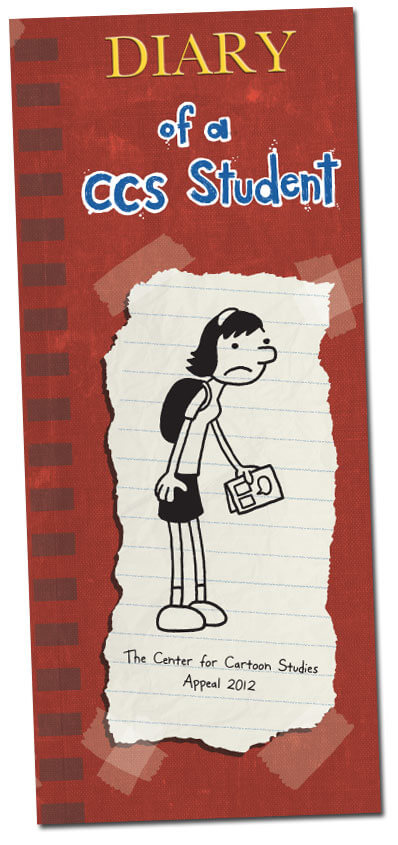 Last spring, Jeff Kinney visited The Center for Cartoon Studies and ...