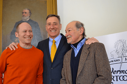 Vermont_Cartoonist_Laureates_Governor_Shumlin