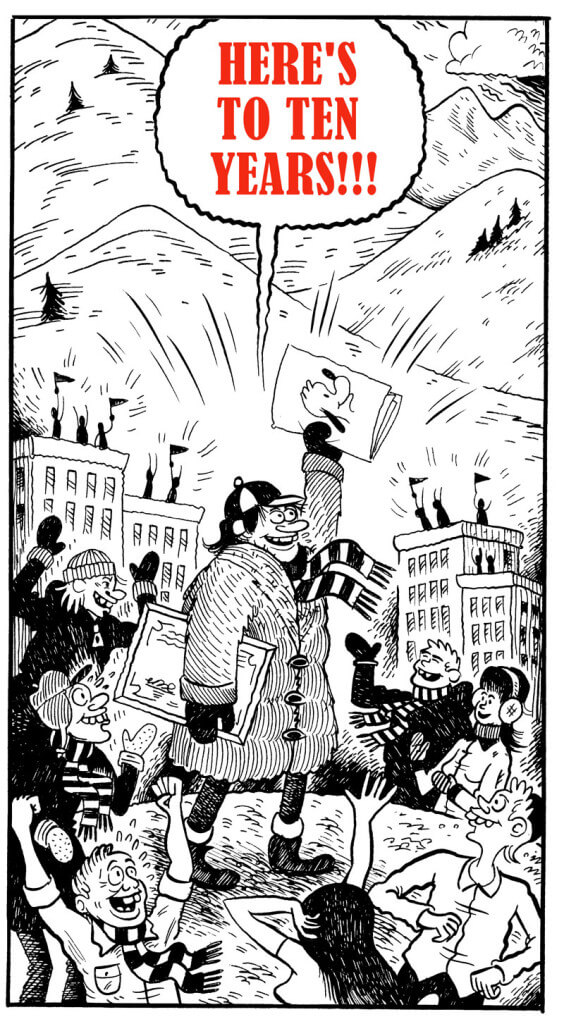 The Center for Cartoon Studies, MFA, Anniversary