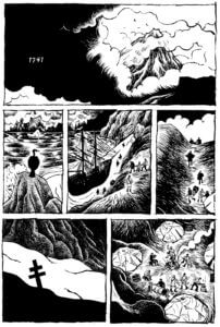 Sample page of Wild Man by T Edward Bak