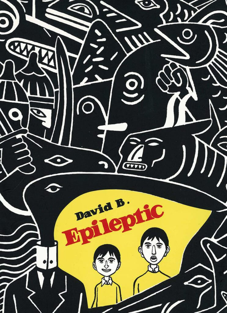 Cover of Epileptic by David B