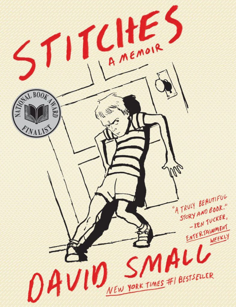 Cover of Stitches paperback by David Small