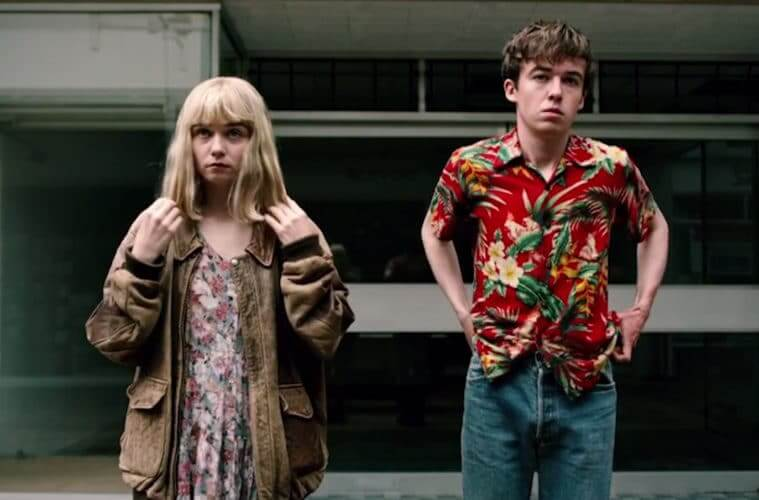 Image from TEOTFW TV series
