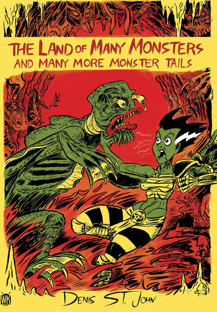 Cover of The Land of Many Monsters by Denis St. John