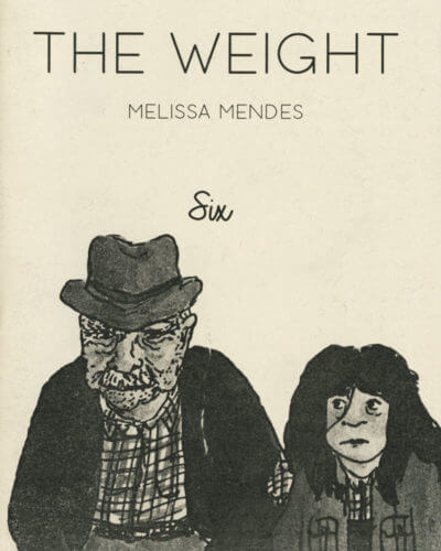 Cover of The Weight, Number 6, by Melissa Mendes