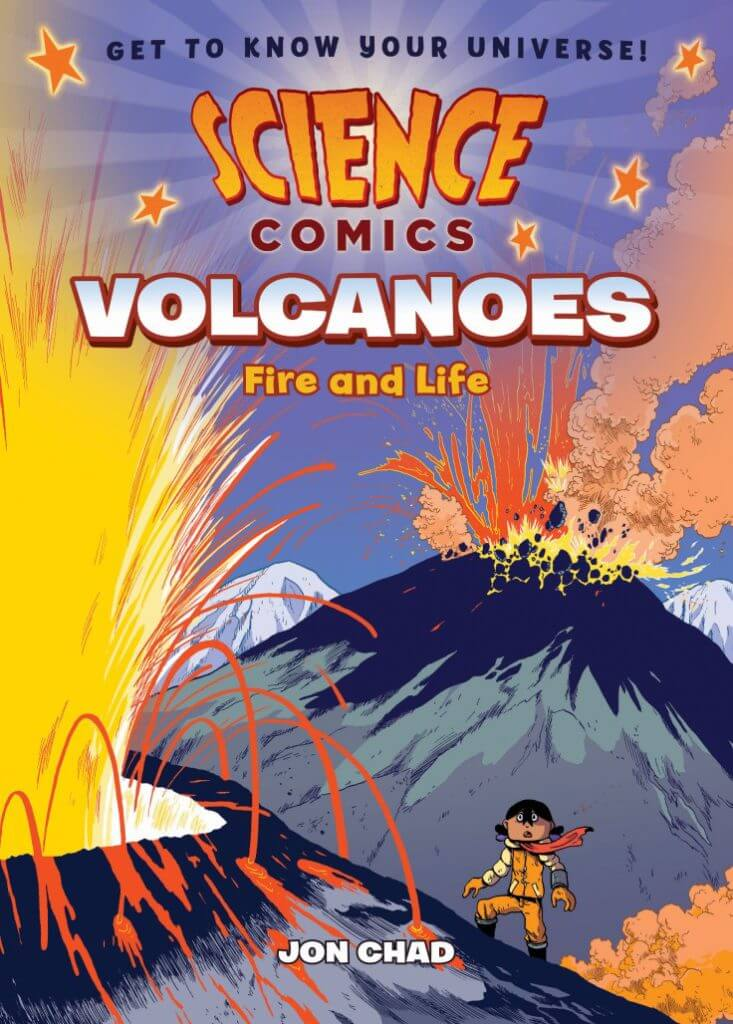 Cover of Volcanoes by Jon Chad