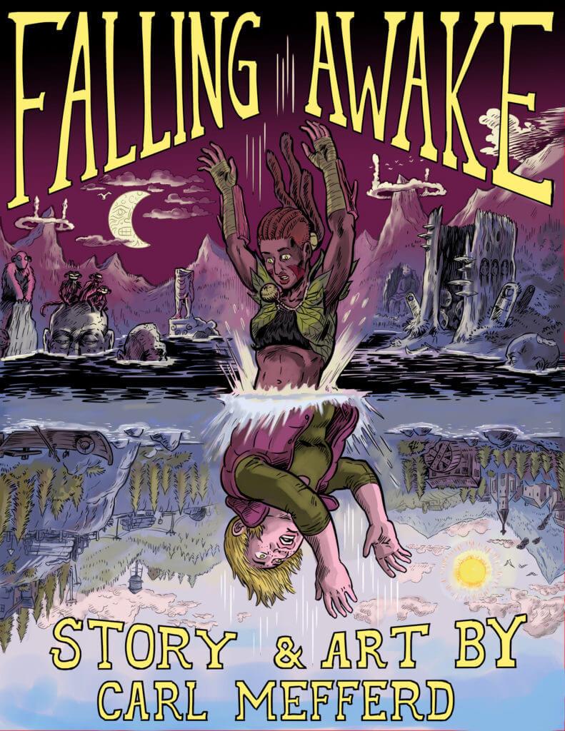 Cover of Falling Awake by Carl Mefferd